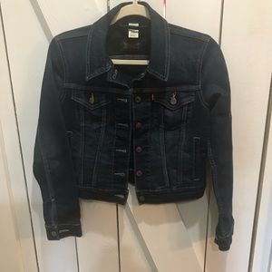 Levi's Dark wash jean jacket size small